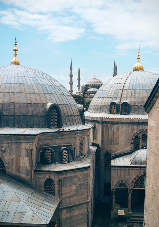 istanbul daily istanbul blue mosque view
